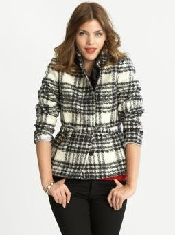 Heritage wool plaid jacket
