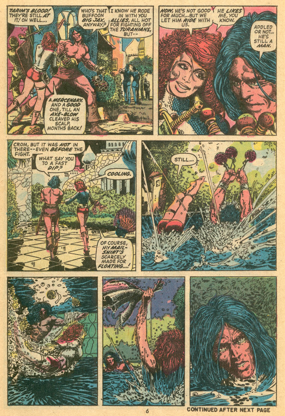 Conan the Barbarian (1970) Issue #24 #36 - English 6
