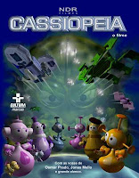 Capa do filme animado Cassiopéia