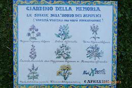 Giardino della  Memoria sul portale Abruzzo Turismo