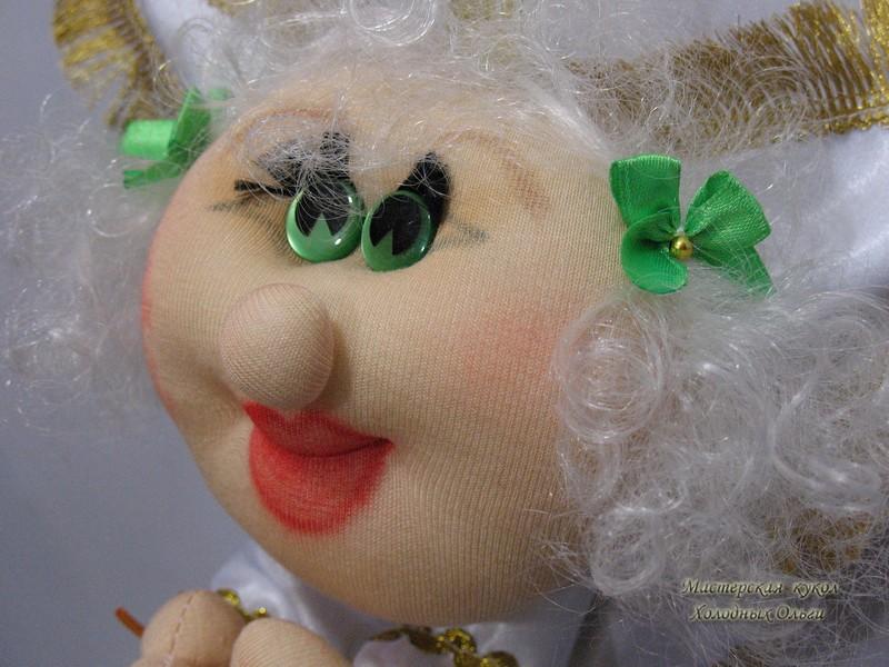 Кукла из трикотажа Ангелочек