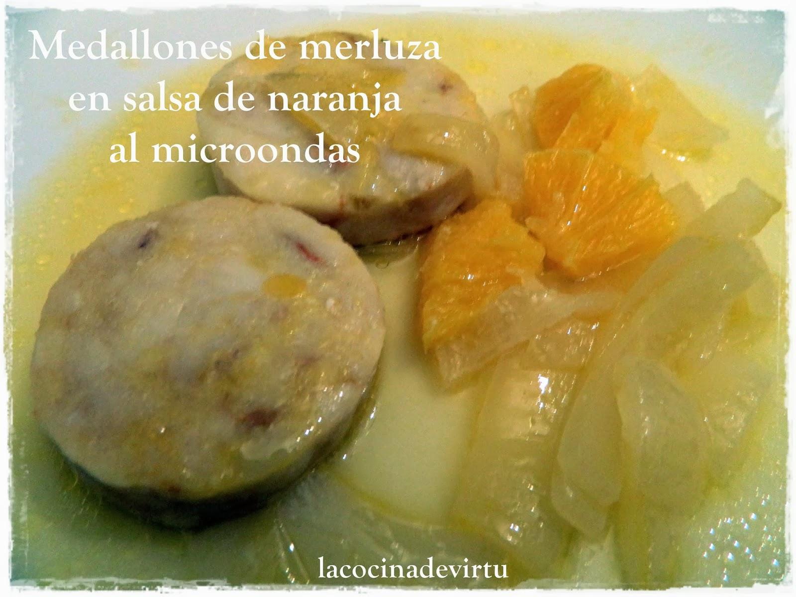 La Cocina De Virtu Medallones Merluza En Salsa De Naranja