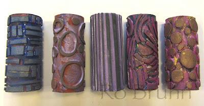 Ro Bruhn Art Roller Stamps