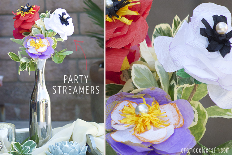 how to make crepe paper streamers