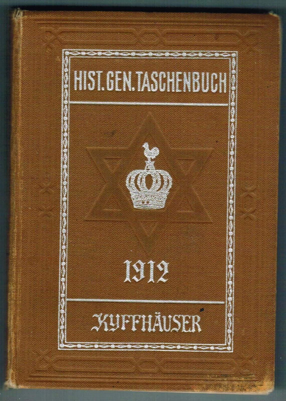 Semi Gotha 1912 Jewish Nobility