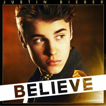 believe portada justin bieber, disco justin bieber believe, album believe