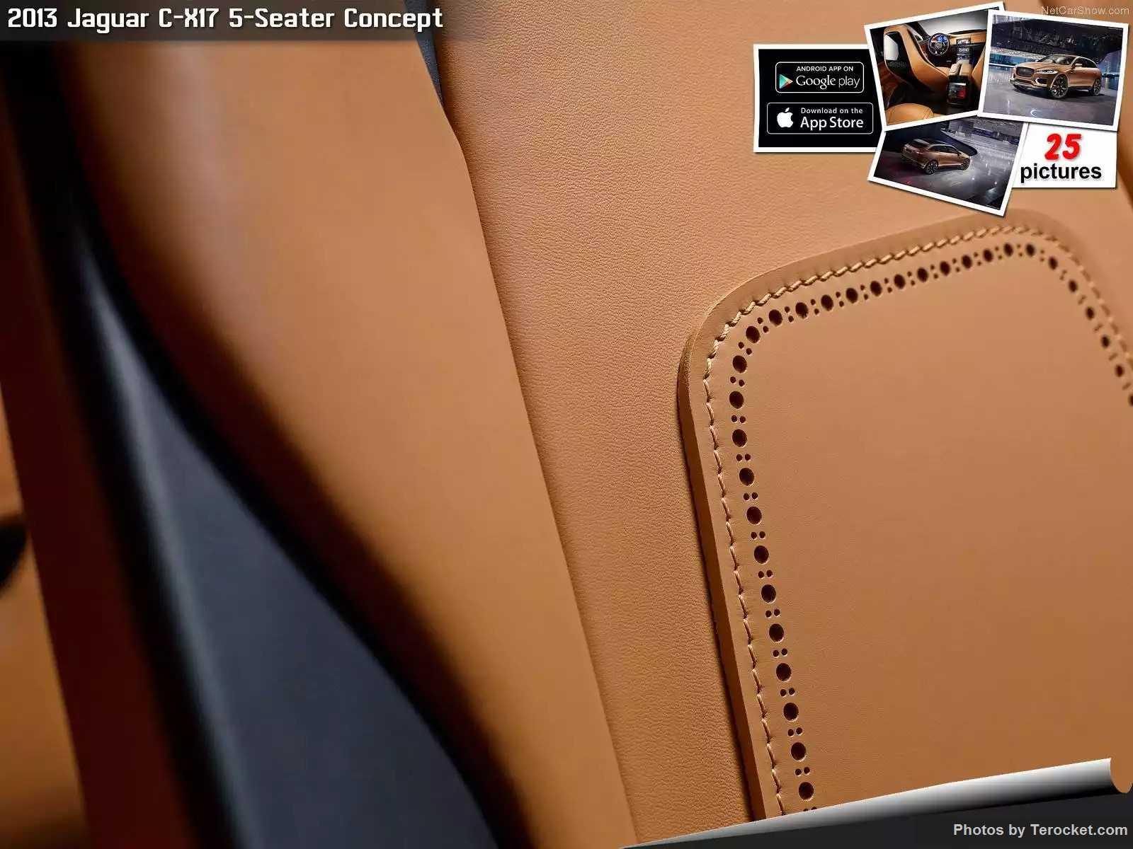 Hình ảnh xe ô tô Jaguar C-X17 5-Seater Concept 2013 & nội ngoại thất