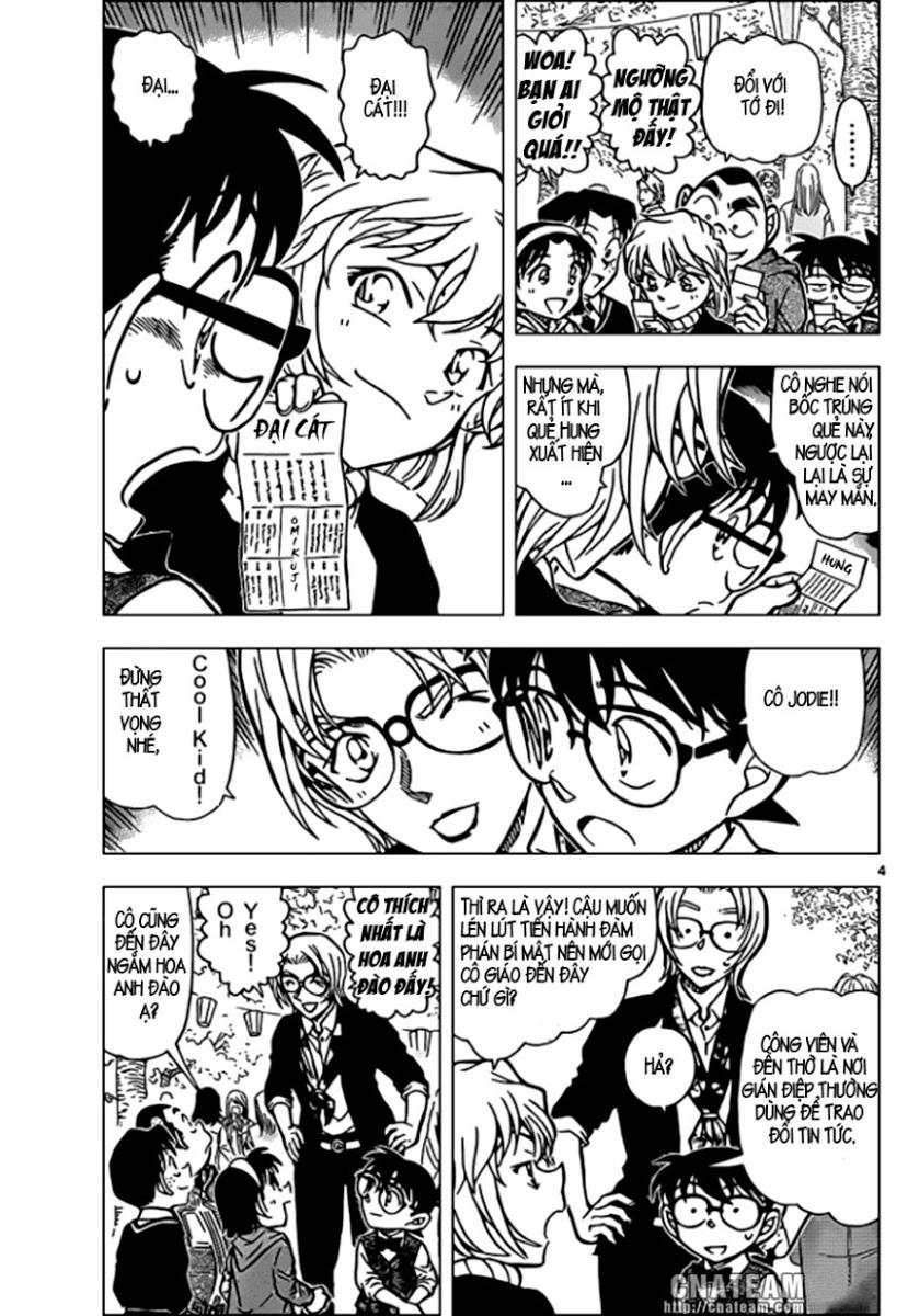 Detective Conan - Thám Tử Lừng Danh Conan chap 850 page 5 - IZTruyenTranh.com