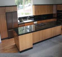 Tủ bếp tre ép