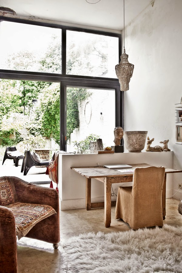La maison bucolique d 39 une archi d 39 int rieur belge for La maison home accessories