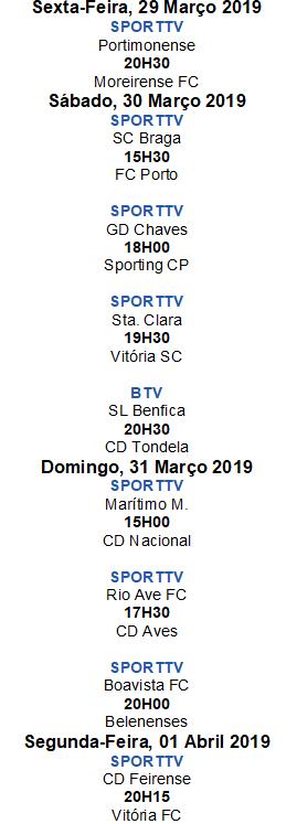 Liga Nós 2018-2019 27ºJornada
