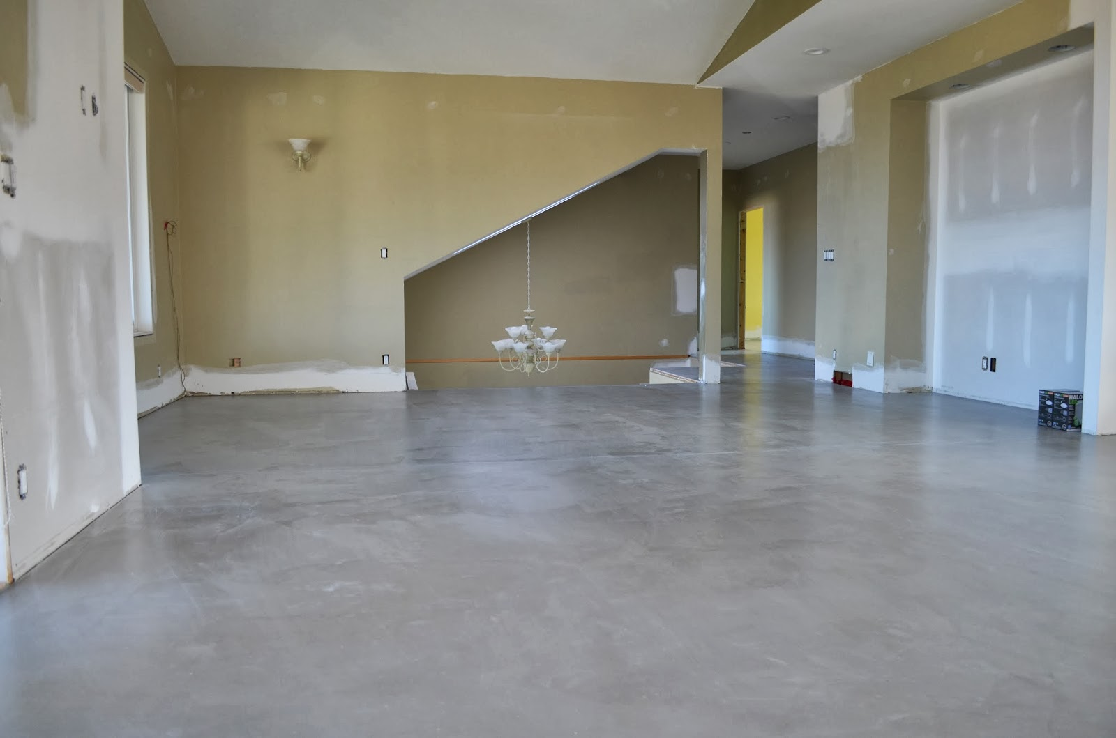 Concrete Overlay Flooring : Mode concrete ante up any space with contemporary