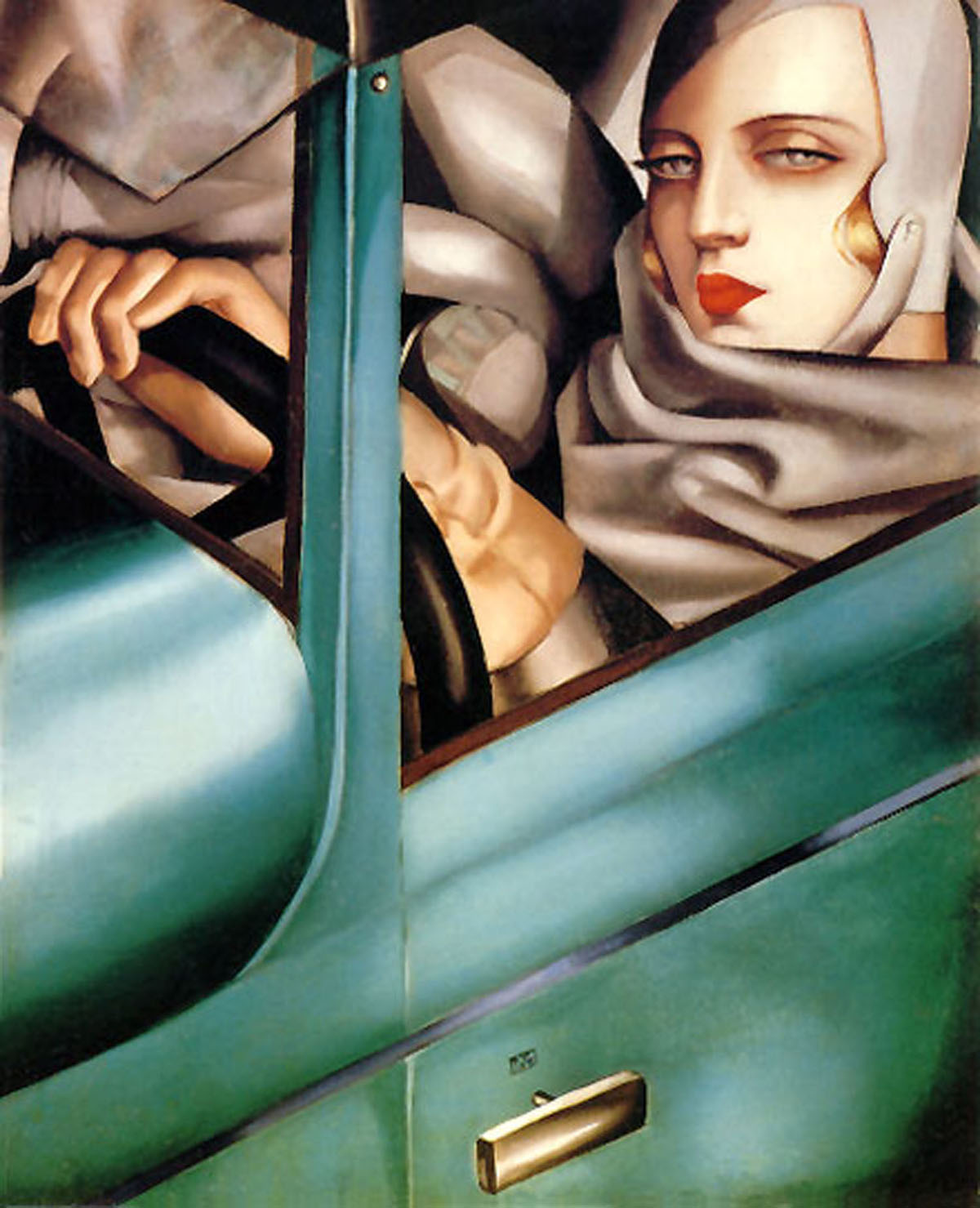 he oincidental andy tamara de lempicka the woman in. Black Bedroom Furniture Sets. Home Design Ideas