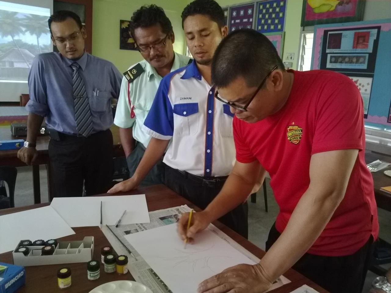 Bengkel Penandaan SPM Pendidikan Seni Visual Kertas 2611/2 Daerah Kota