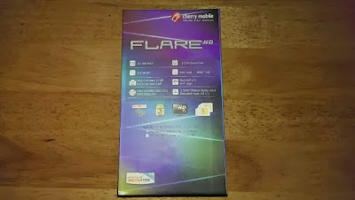 Cherry Mobile Flare HD Box