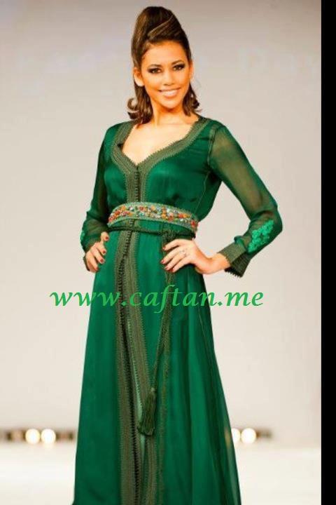 Belles robes vert