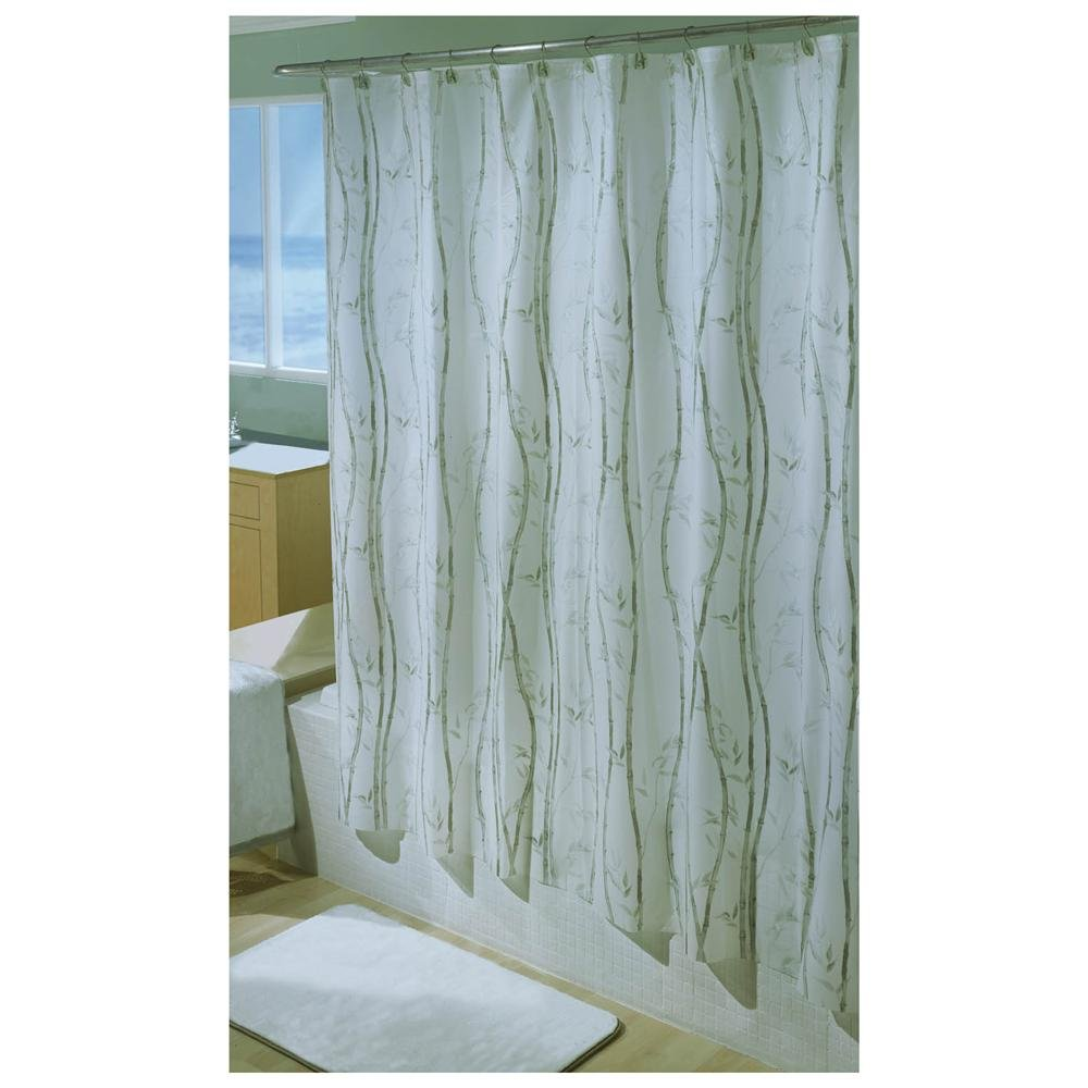 bamboo vinyl shower curtain7