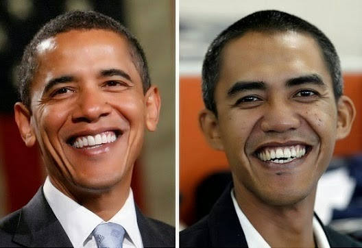 Obama and Look Alike