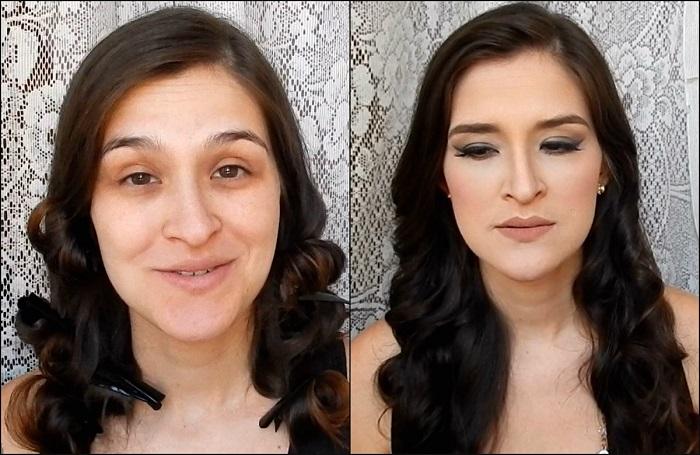 antes e depois transformação