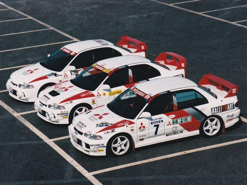 Mitsubishi Lancer Evolution III, IV, CE9A, CN9A, japońskie sportowe samochody, najlepsze sedany z napędem na cztery koła, sportowe auta z lat 90, rajdy, wyścigi, zdjęcia, JDM, legendarne samochody
