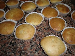 pear muffins, 梨マフィン