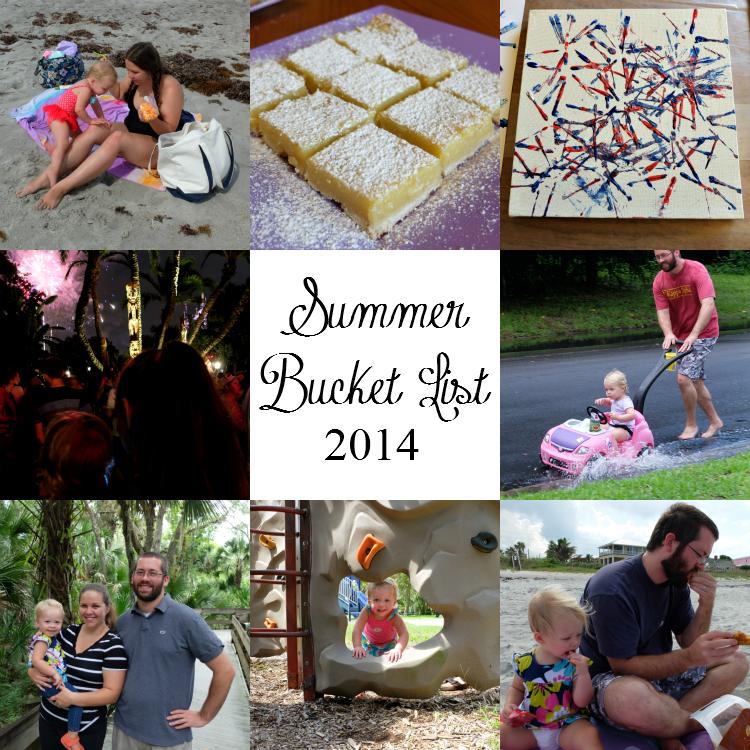 Sweet Turtle Soup - Summer Bucket List 2014
