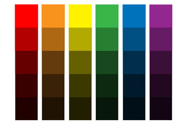 цвет. свойства цвета. яркость