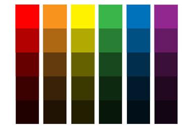 Как сделать насыщенные цвета 16
