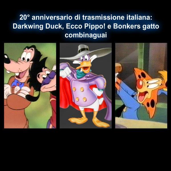 ° anniversario delle serie a cartoni animati disney