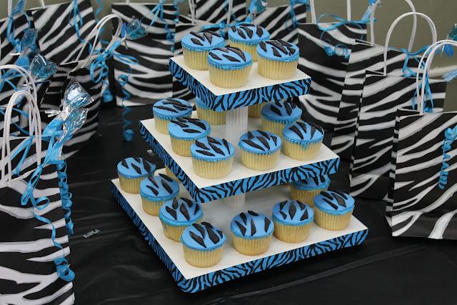 How To Make Zebra Print Cupcakes