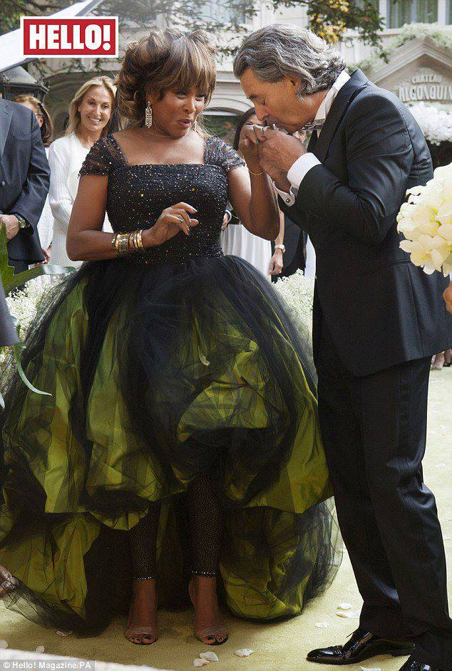 tina turner wedding pictures