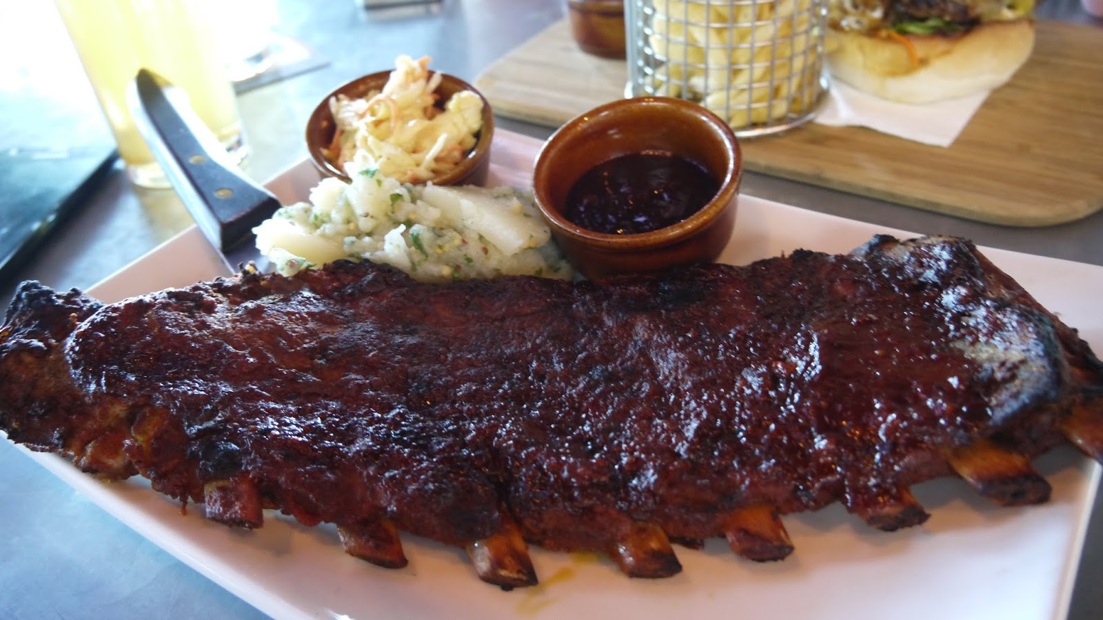 Ribs, American, Adelaide, Burgers, Beer, James Squire, Curious Squire, North Adelaide