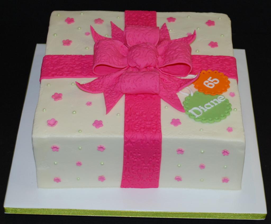 The Bakery Next Door Gift Box Birthday Cakes
