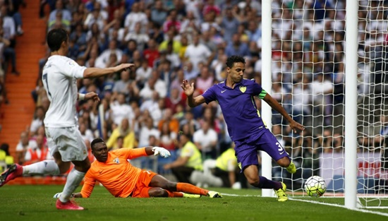 Real Madrid 0 x 0 Malaga - Campeonato Espanhol(La Liga) 2015/16