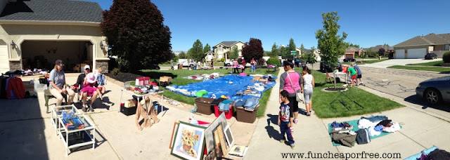 How to throw a successful yard sale