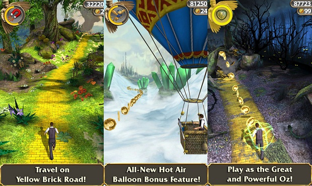 Download Temple Run: Oz for Android, iPhone and iPad