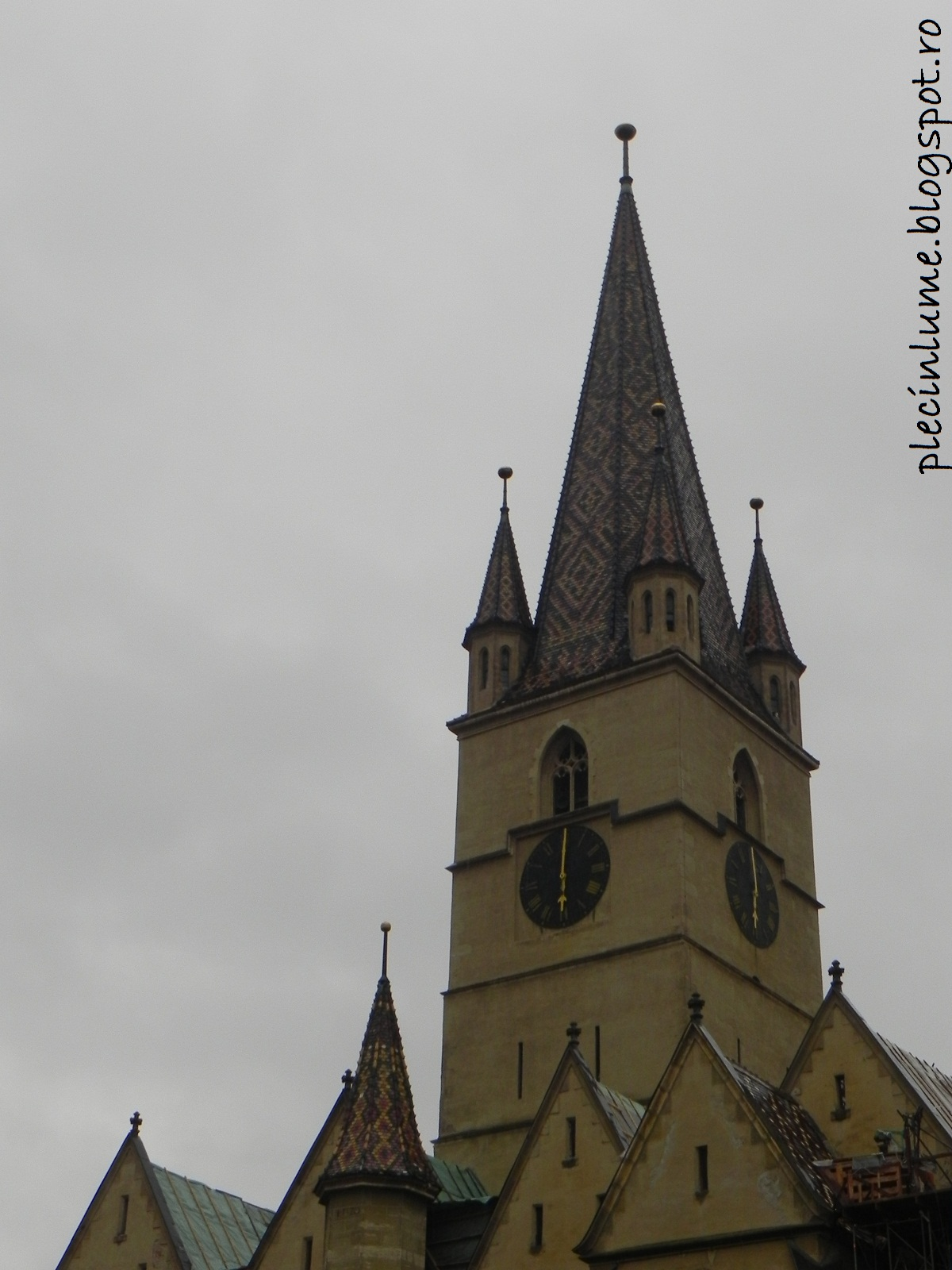 Turnul Bisericii evanghelice din Sibiu