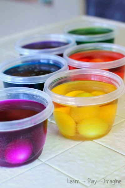 Simple recipe for homemade egg dye