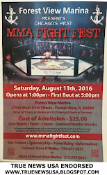 MMA FIGHT FEST - FOREST VIEW IL - 08/13/16