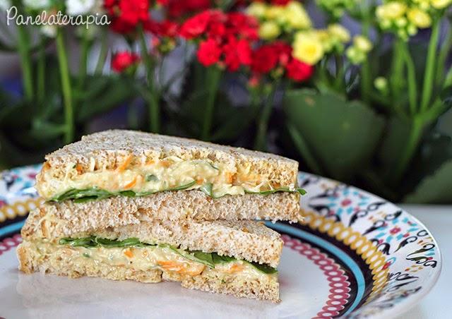 de Culinária, Gastronomia e Receitas: Sanduíche Natural de Frango