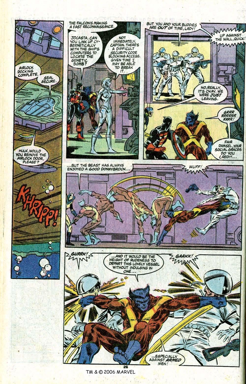Captain America (1968) Issue #348c #280 - English 28