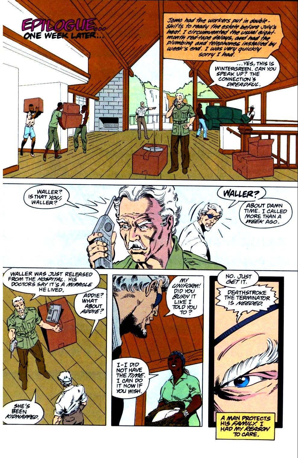 Deathstroke (1991) Issue #26 #31 - English 25