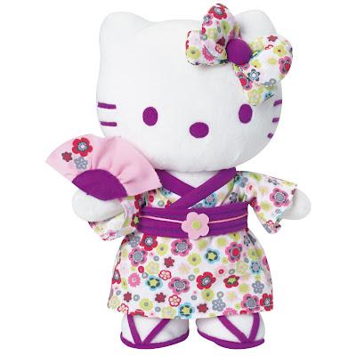 Peluche Hello Kitty : idee cadeau peluche premier age hello kitty pas cher