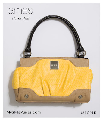 Miche Ames Classic Shell in Sunny Yellow