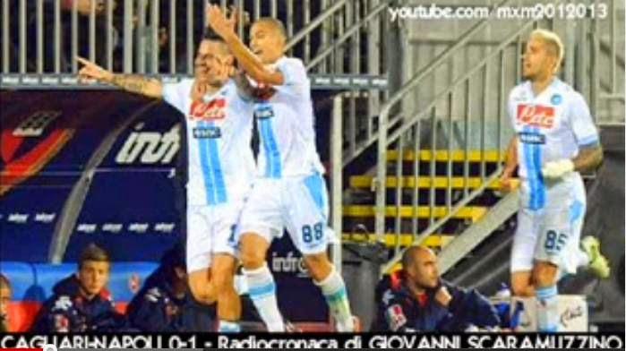 Cagliari-Napoli 0-1 Giovanni Scaramuzzino