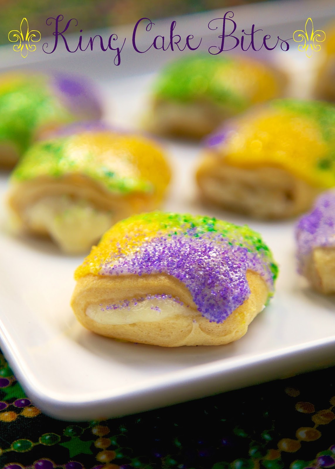Easy gluten free king cake recipe