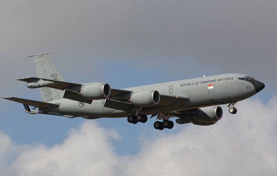 Boeing KC-135R Angkatan Udara Singapura