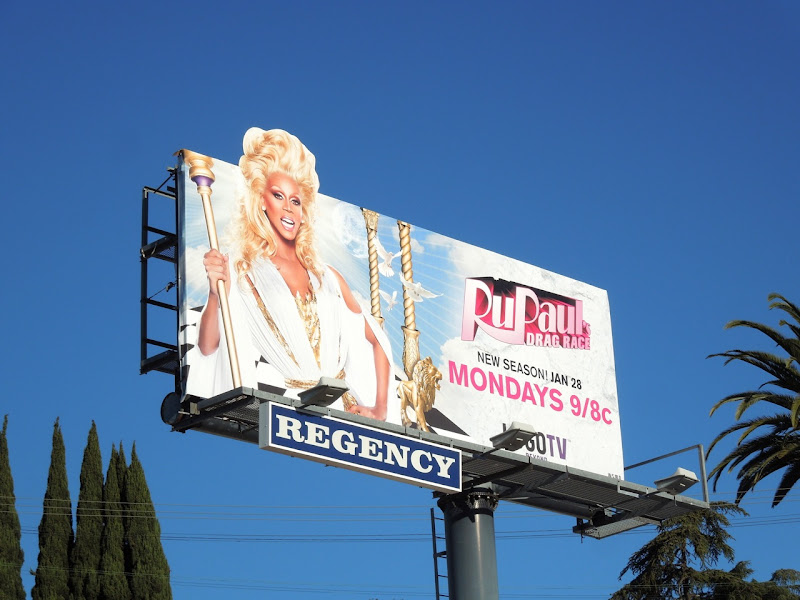 RuPaul's Drag Race season V billboard