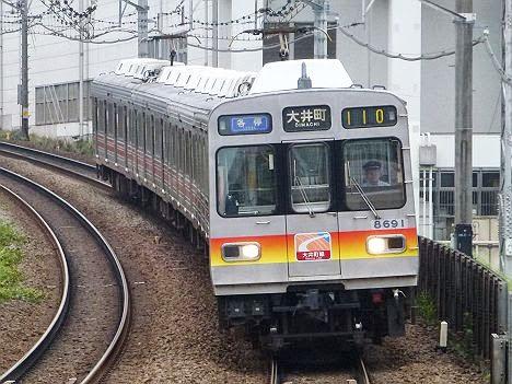 東京急行電鉄大井町線 青の各停 大井町行き2 8590系(H25.6引退)