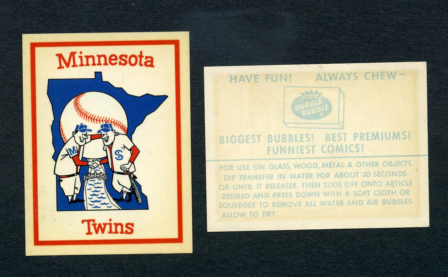 the fleer sticker project when were the 1962 fleer baseball